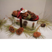 Pine Cone Firestarters Assortment -  Made In USA!