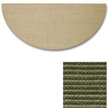 Sunset Natural Sisal Half Round Rug