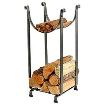 Hammered Sling Log Rack