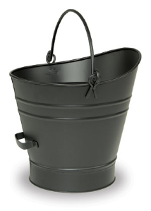 Black Coal Hod/Pellet Bucket