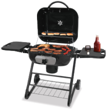 DELUXE OUTDOOR CHARCOAL BARBECUE GRILL  DISCONTINUED