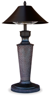 "Endless Summer Tabletop ""Vacation Day""  Electric Halogen Patio Heater"