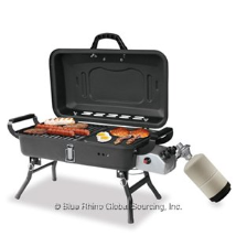 DELUXE OUTDOOR LP GAS BARBECUE GRILL