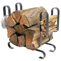 Large Modern Log Rack