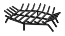 Hex Shape Bar Grate For Outdoor Fireplaces