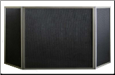"Three Panel ""Millennium"" Fireplace Screen (SKU: PW 1000)"