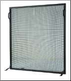 Meyda Flat Simple Fireplace Screen (SKU: MT 1)
