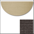 Sunset Natural Sisal Half Round Rug (SKU: 10896)