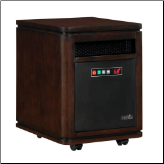 Infra-Red Quartz Heater with Remote Control (SKU: 10-)