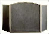"Three Panel ""Millennium"" Arched Fireplace Screen (SKU: PW 1100)"