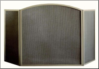 "Three Panel ""Millennium"" Arched Fireplace Screen"