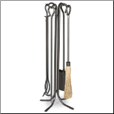5 Piece Large Hearth Fireplace Tools (SKU: 18014)