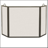 3 Panel Rectangular Fireplace Screen (SKU: 182-)