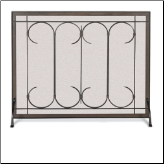 Iron Gate Fireplace Screen (SKU: 18)