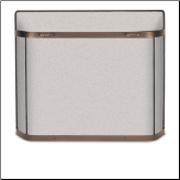 Pilgrim SGBB Series Burnished Bronze Fireplace Screen (SKU: 183--)