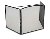 3 Panel Stove Guard Fireplace Screen (SKU: 19261)
