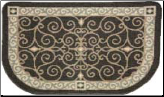 Textured Weave Eastly Scroll (SKU: 19623)