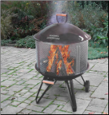Heatwave Outdoor Fire Pit  (SKU: 5LU-28008)