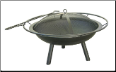 Halo Outdoor Fire Pit (SKU: 5LU-28240)