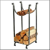 Hammered Sling Log Rack (SKU: EN-LR2)
