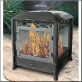 Aspen All Steel Outdoor Fire Pit (SKU: 5LU-28107)