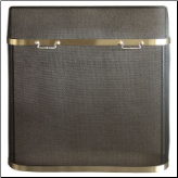 Spark Guard With Decorative Trim - Available in Standard And Custom Sizes With Trim (SKU: PW 894)