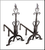 Cathedral Andirons (SKU: AND-10)