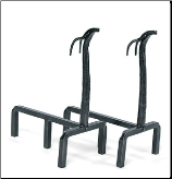 Deer Fireplace Andirons (SKU: AND-13)