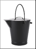 Black Ash Bucket (SKU: ASH-01)