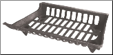 Cast Iron Fireplace Log Grate (SKU: C-153)