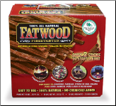 Fatwood 10 Pounds in Color Carton (SKU: C-1710)