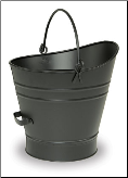 Black Coal Hod/Pellet Bucket (SKU: C-6)