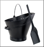 Black Pellet/Coal Scuttle (SKU: C)