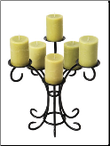 Sprig Votive Hearth Candelabra (SKU: CH-22)