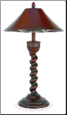 "Endless Summer Tabletop ""New Orleans""  Electric Halogen Patio Heater (SKU: EWTR800B)"