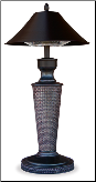 "Endless Summer Tabletop ""Vacation Day""  Electric Halogen Patio Heater (SKU: EWTR890SP)"