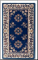 "44"" X 22"" Oriental Wool Hearth Rug (SKU: H-2)"
