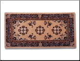 "56"" X 26"" Oriental Wool Hearth Rug (SKU: H-3)"