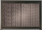 Ovation II Masonry Fireplace Screen - Available in Standard And Custom Sizes - Choice of 28 Finishes (ADD CODE) (SKU: PW Ovation II)