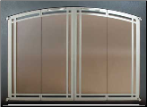 Ovation II Masonry Fireplace Screen - Available in Standard And Custom Sizes - Choice of 28 Finishes (ADD CODE) (SKU: PW Ovation II ARCH DECO)