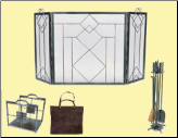 Wright Design Fireplace Package Set (SKU: PAK-WRSSWLCW-16)