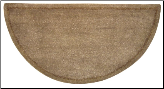 Hand Tufted Beige 100% Wool Hearth Rug (SKU: R-1000)