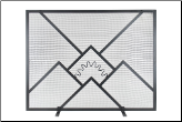Sunrise Fireplace Screens (SKU: SS-42)