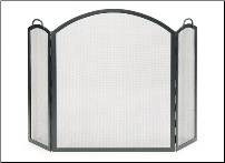 Arched Three-Part Folding Screen