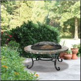 Uniflame SLATE TILE / COPPER OUTDOOR FIREBOWL (SKU: WAD931SP-0)