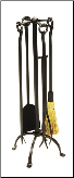 English Country Fireplace Tool Set (SKU: WR-26)