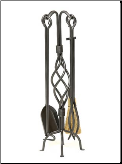 Helix Fireplace Tools (SKU: WR-30)