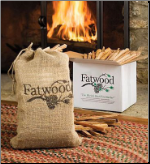Fatwood 15 Pounds in White Carton (SKU: C-1571)