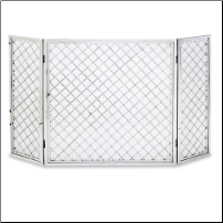 Hartwick 3 Panel Fireplace Screen