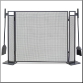 Blackshear 3 Panel Fireplace Screen (SKU: 18258)